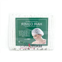 1000 Pcs Disposable Bouffant Hair Net Cover Caps Facial Trea