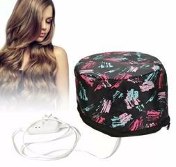 110V Electric Hair Cap Thermal Cap For Hair Spa Home Hair Th