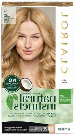 2 Clairol Hair Color Natural Instincts 9 Light Blonde Semi P