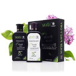 2 in 1 Black Hair Colorant Fast Dye Restore Hair Shampoo Tre