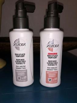 2 Pack Nioxin System 1 & 3 Scalp & Hair Treatment 100 ml