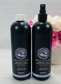 2 Tweak'd By Nature Restore Hair Treatment Mist 16oz NEW U