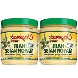 2 X Africa Best Organics Hair Mayonnaise Treatment For Week,