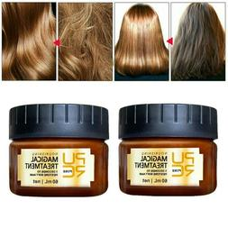 5 Seconds Magic Hair Keratin Treatment Mask for Dry Damaged