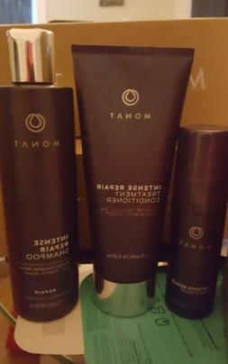 3 IRT Spray Monat Hair Shampoo Intense Repair Treatment Cond