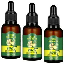 3X Hair Regrow 7 Day Ginger Germinal Serum Essence Oil Loss