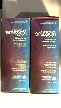 Rogaine 5% Minoxidil Topical Aerosol Hair Regrowth Treatment