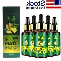 7 Days Hair Growth Essential Anti Baldness Ginger Alopecia T