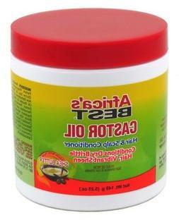 Africas Best Castor Oil Hair & Scalp Conditioner, 5.25 Oz