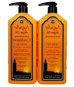 Agadir Argan Oil Daily Moisturizing Shampoo and Conditioner