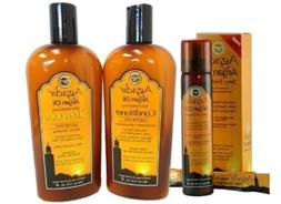 Agadir Argan Oil Triple Combo Set 12.4oz Shampoo + 12.4oz Co