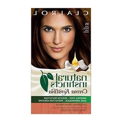 Clairol Natural Instincts Semi-Permanent Hair Color Kit, 4 C