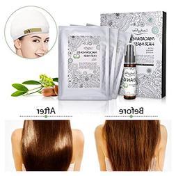 Hair Treatment Masks Kit, LuckyFine Argan Oil Hair Treatment