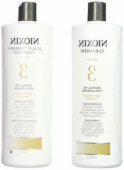 Nioxin System 3 Cleanser & Scalp Therapy Conditioner Treated