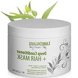 Organic Deep Conditioner Hair Mask: Moisturizing for Shiny S