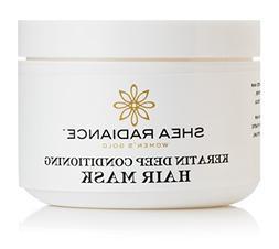 Shea Radiance - Keratin Deep Conditioning Hair Mask, 8 oz