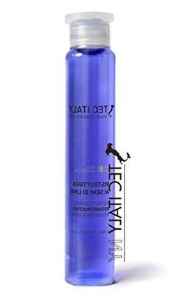 Tec Italy Recunstruct Hair Treatment Al Semi Di Lino  0.33oz