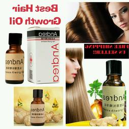Andrea Hair Growth Ginger Essence Natural Hair Loss Treatmen