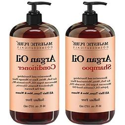 Argan Oil Shampoo and Conditioner, from Majestic Pure, Impro