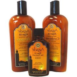 Agadir Argan Oil Daily Moisturizing 3 in 1 Combo Set (Daily