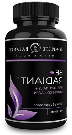 BeRadiant - Full Spectrum Hair Skin & Nails Vitamins for All