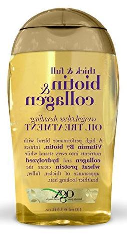 Ogx Biotin & Collagen Oil Treatment 3.3 Ounce Weightless