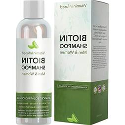 Natural Biotin Shampoo For Hair Growth and Strengthener - Ha