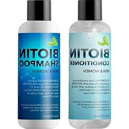 Biotin Shampoo and Conditioner Hair Loss Treatment for Thinn