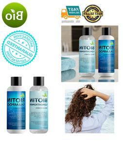 Biotin Shampoo Conditioner Body Wash Hair Growth For Men Wom