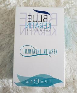Blue Hair - Blue Keratin Keratin Treatment  .