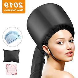 Bonnet Hood Hair Dryer Attachment, ProCIV Soft Bonnet Hooded