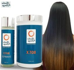 Botox4Hair Repair Dry Damage Straighten Hair + Shampoo Hair