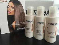 Brazilian Blowout Complex Hair Treatment KIT 3x 2oz products