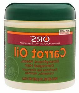 ORS CARROT OIL Strengthens Weak, Damaged Hair 6 oz