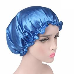 tueselesoleil Women's Chemotherapy Cap Silk nightcap Hair an