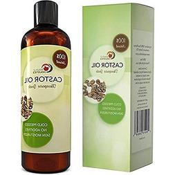 Cold Pressed Castor Oil Hair Growth Treatment - All Natural