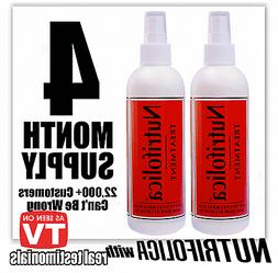 CURE HAIR LOSS ALOPECIA THINNING BALDNESS 2QTY NUTRIFOLICA H