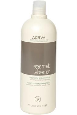 Aveda DAMAGE REMEDY Restructuring Shampoo Liter 33.8 oz, New