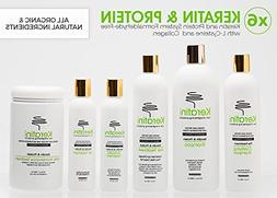 Deluxe Keratin Hair-Straightening Formaldehyde-Free w/ L-Cys