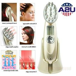 Electric RF Laser Comb Hair Growth Loss Treatment Vibration