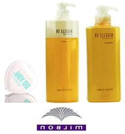 Nigelle ER Shampoo & Hair Treatment DUO Set, silky smooth an