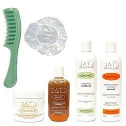 Etae Carmelux Shampoo, Conditioner, E'tae Carmel Treatment,