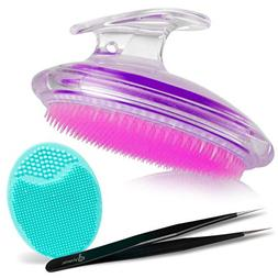 Exfoliating Brush For Razor Bumps and Ingrown Hair Treatment