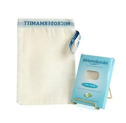 Microdermamitt Deep Exfoliating Mitt Body Scrub, European Sc