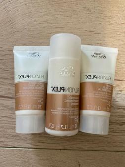Wella FUSION PLEX Intense Repair Shampoo 1.7oz & Conditioner