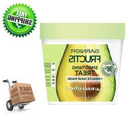 Garnier Fructis Smoothing Treat 1-Minute Hair Mask + Avocado