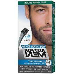 JUST FOR MEN Color Gel Mustache - Beard M-45 Dark Brown 1 Ea