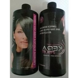 GENUINE BRAZILIAN Hair Permanent Straight Straightener Treat