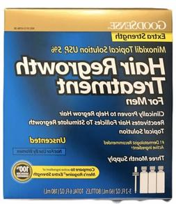 GoodSense Minoxidil Topical Solution 5% Hair Regrowth Treatm