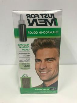 Just for Men Shampoo-In Hair Color, Light Brown 25, 1 applic